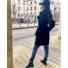 Kép 2/3 - Sydney kabát megkötővel - fekete