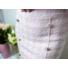 Kép 3/3 - Tweed szoknya gombbal - rózsaszín