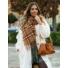 Kép 3/3 - Florence láncos táska - barna
