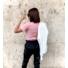 Kép 2/2 - Basic póló - rózsazsín