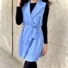 Kép 1/2 - Paris ruha megkötővel - kék