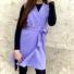 Kép 1/2 - Paris ruha megkötővel - lila