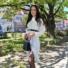 Kép 2/3 - Brooks ingruha - fehér (öv nélkül)