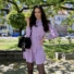 Kép 1/2 - Aspen hosszú ujjú ruha fodorral - lila