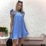 Kép 2/4 - Malibu ruha fodorral - világoskék