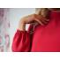 Kép 3/3 - Redrose ruha - alján fodorral