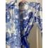 Kép 7/12 - Mykonos szett - kék (nadrág + top + kimonó)