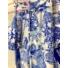 Kép 8/12 - Mykonos szett - kék (nadrág + top + kimonó)