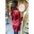 Kép 2/2 - Christmas ruha masnival - bordó