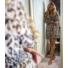 Kép 1/3 - Cordoba mintás ruha - barna