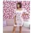 Kép 1/2 - Rosemary ruha - rózsaszín