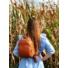 Kép 1/2 - Barna bőrhatású hátizsák