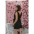 Kép 2/2 - Toscana fodros ruha - fekete