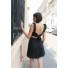 Kép 1/5 - Blackrose nyitott hátú masnis ruha