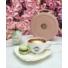 Kép 1/2 - Prestige kör alakú táska - rózsaszín