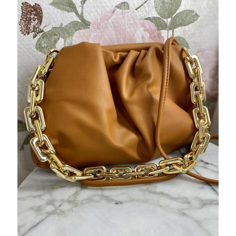 Florence láncos táska - barna