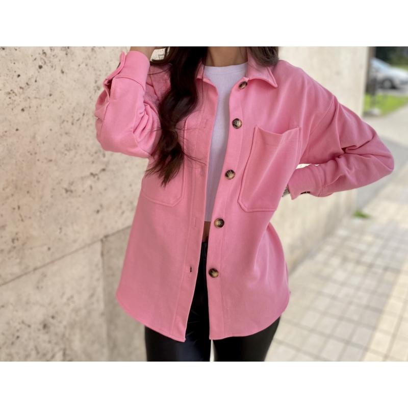 Pink átmeneti felső