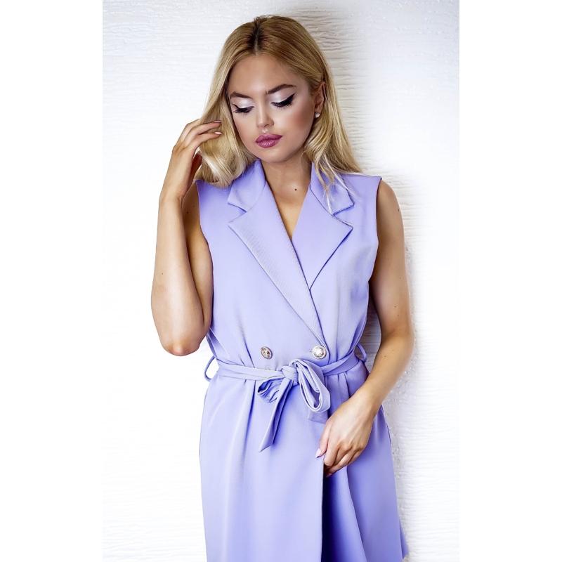 Paris ruha megkötővel - lila