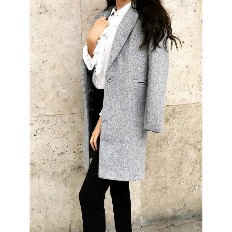 Amsterdam kabát - szürke