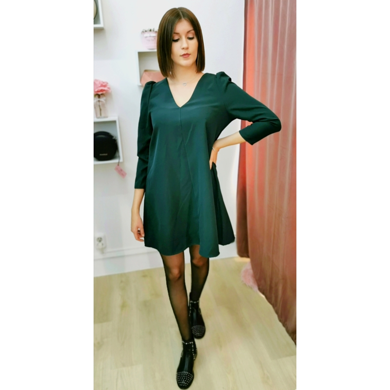 Lily ruha - sötétzöld