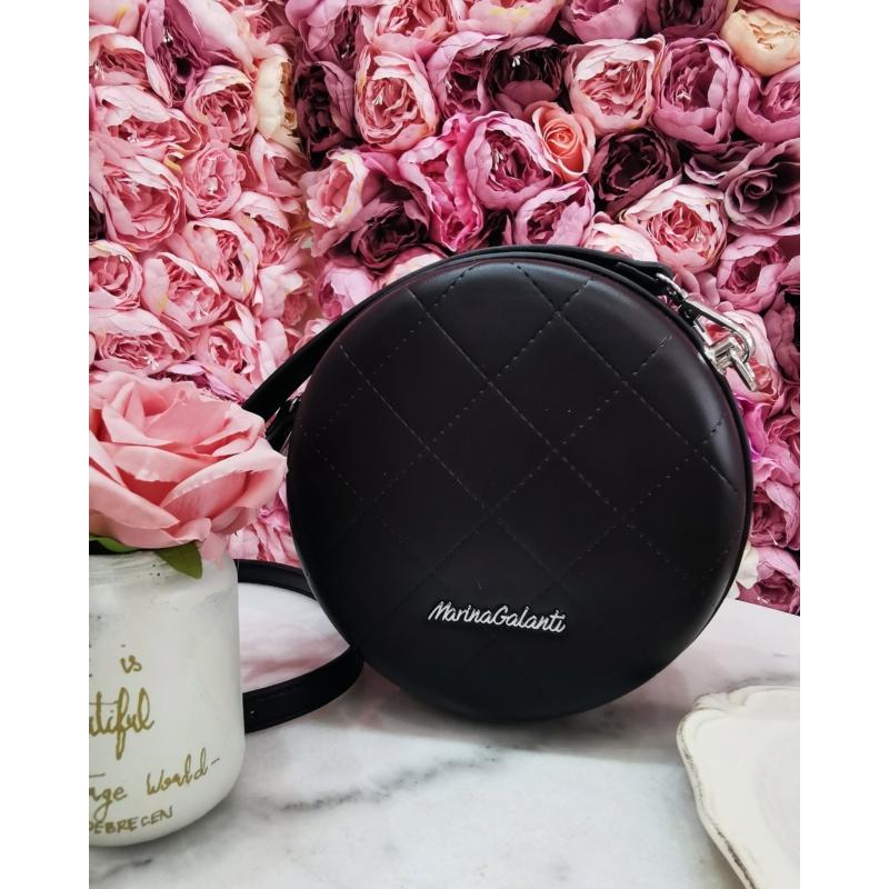 Desert Rose kör alakú táska - fekete