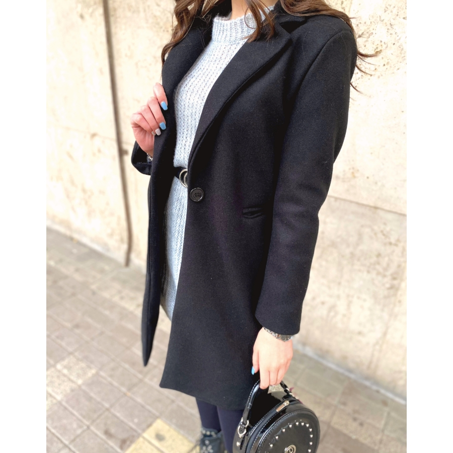 Amsterdam kabát - fekete