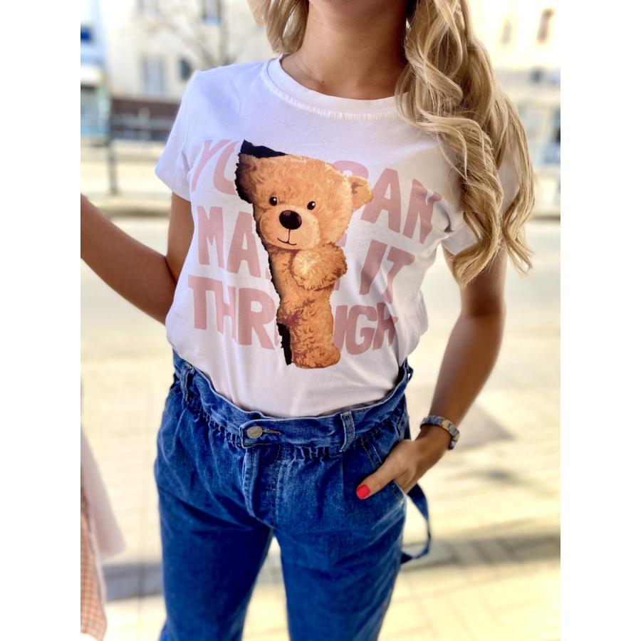 Teddy póló - rózsaszín