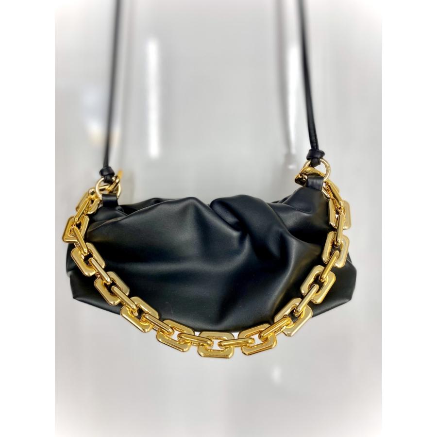 Florence láncos táska - fekete