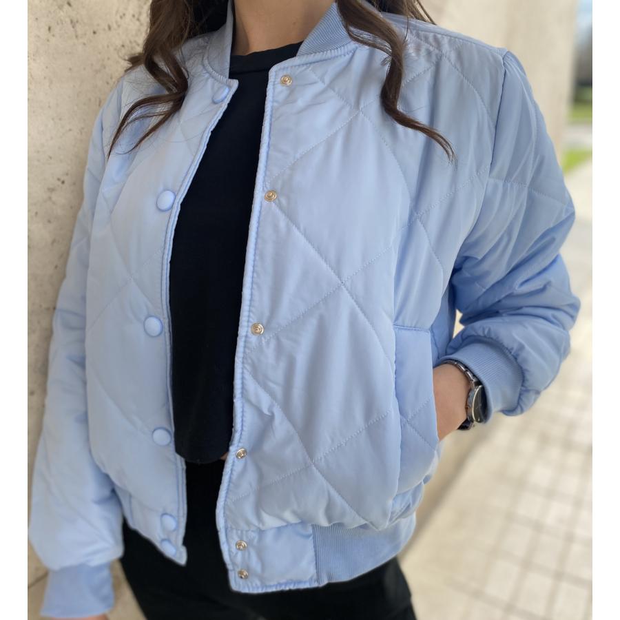 Oakland pufi dzseki - kék