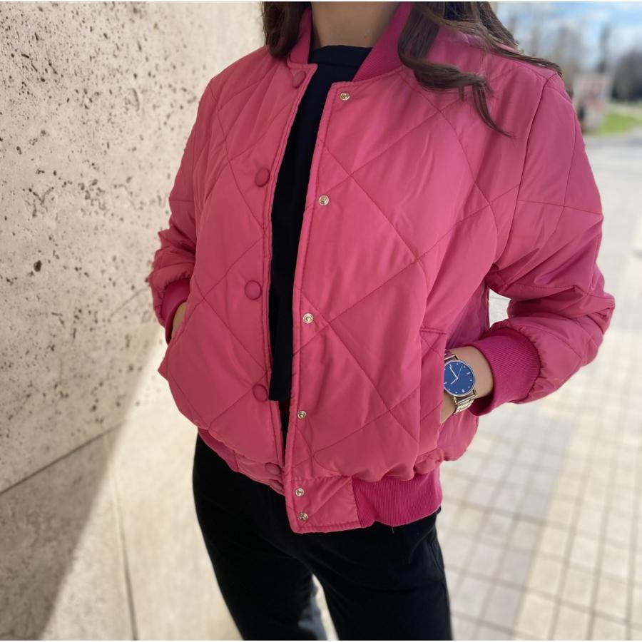Oakland pufi dzseki - rózsaszín