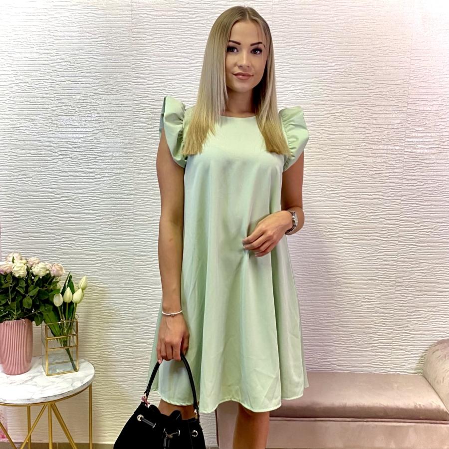 Malibu ruha fodorral - lime zöld