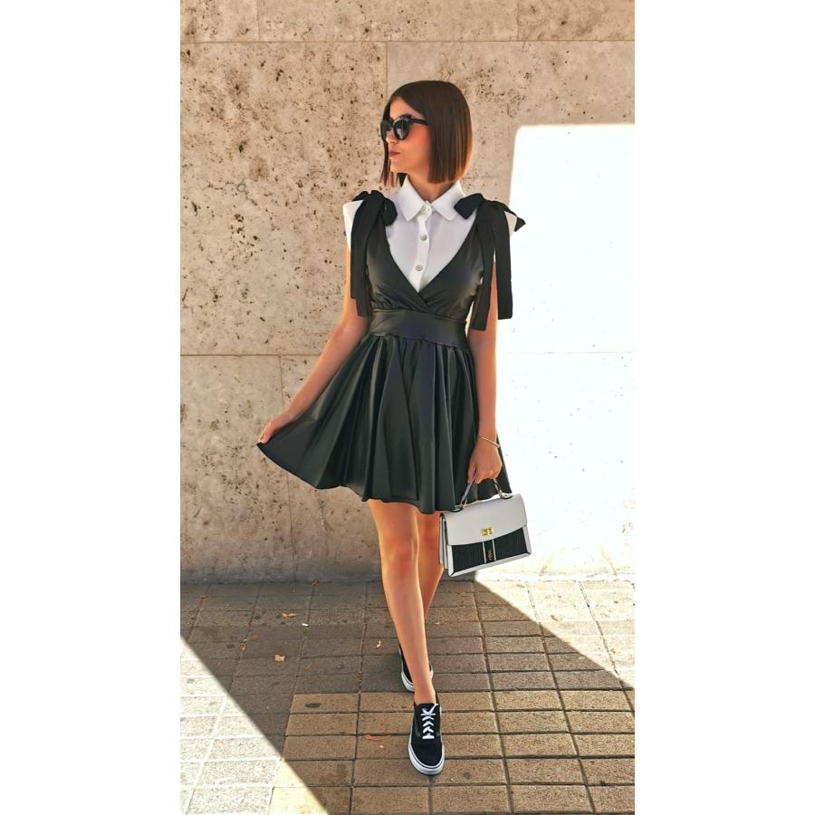 Tokyo bőrhatású ruha