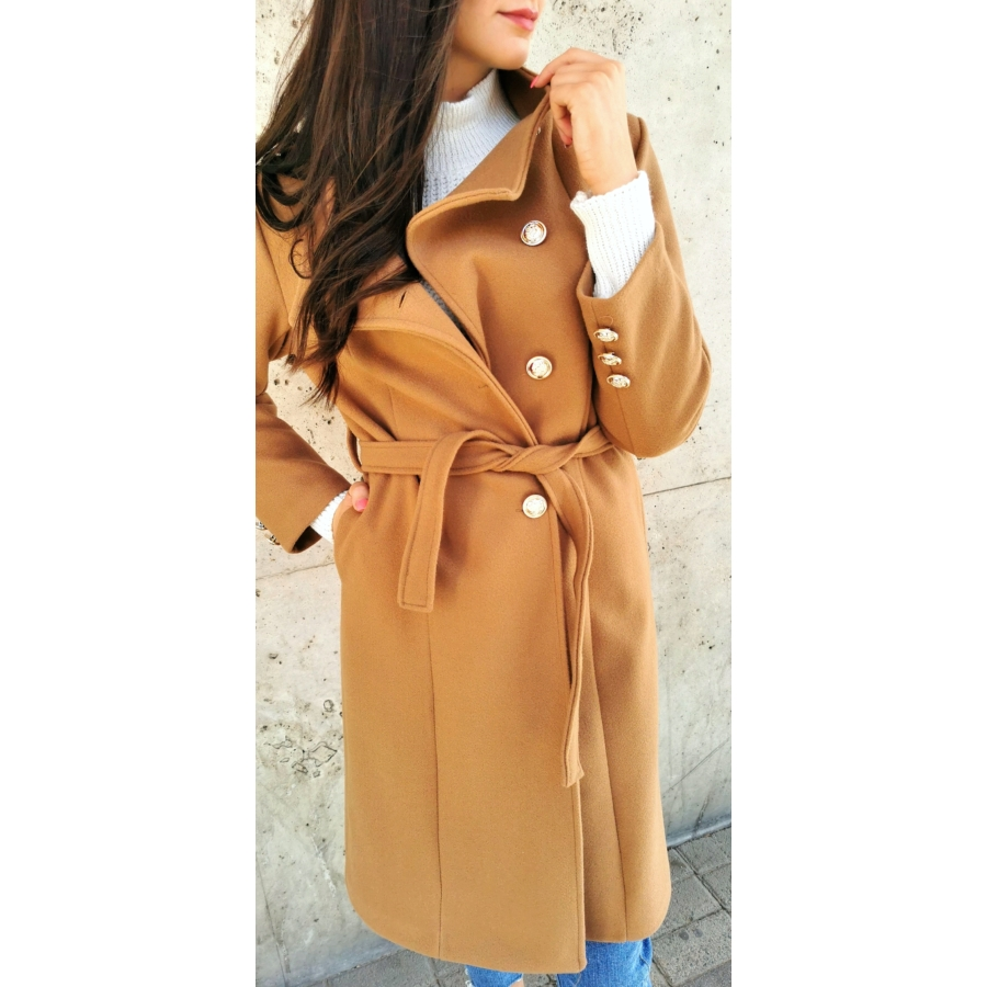 Wien kabát - barna