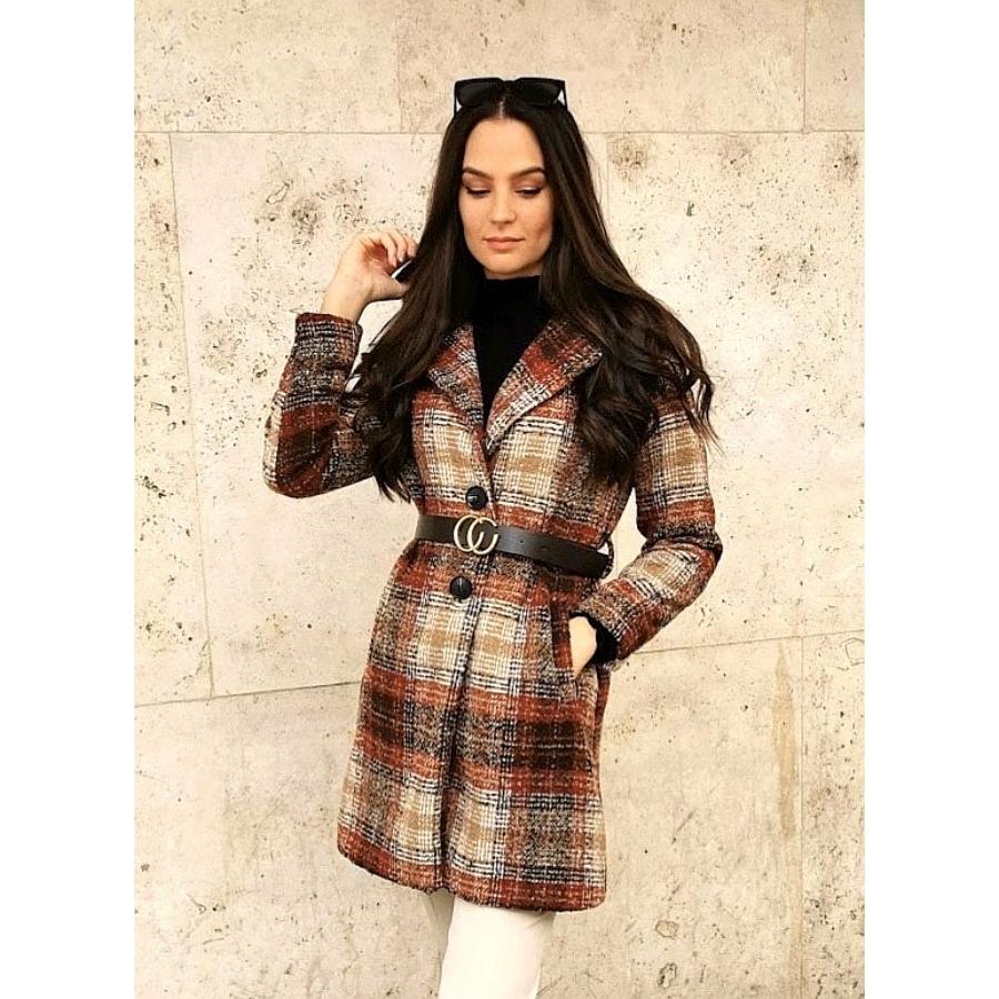 London kockás kabát