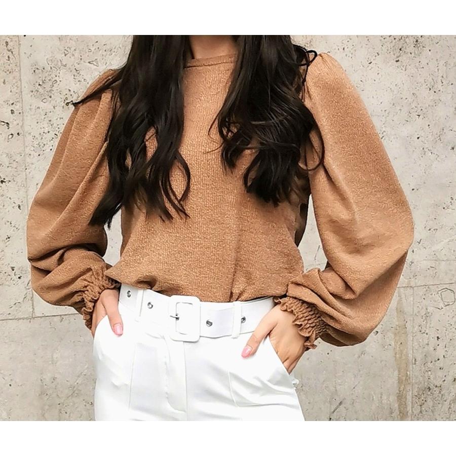 Sydney kötött pulóver - barna
