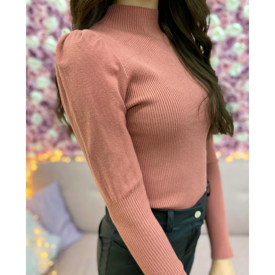 Madison puffos ujjú pulóver
