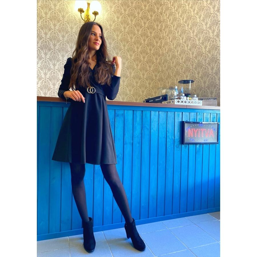 Winter ruha - fekete