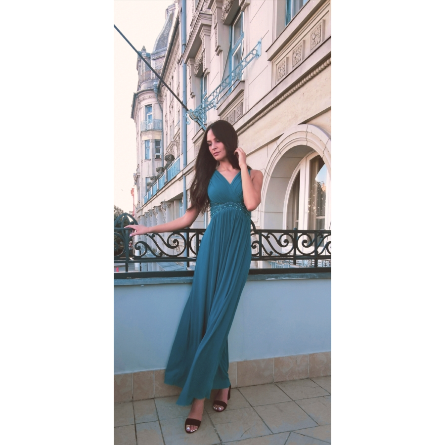 Riviera ruha - türkiz