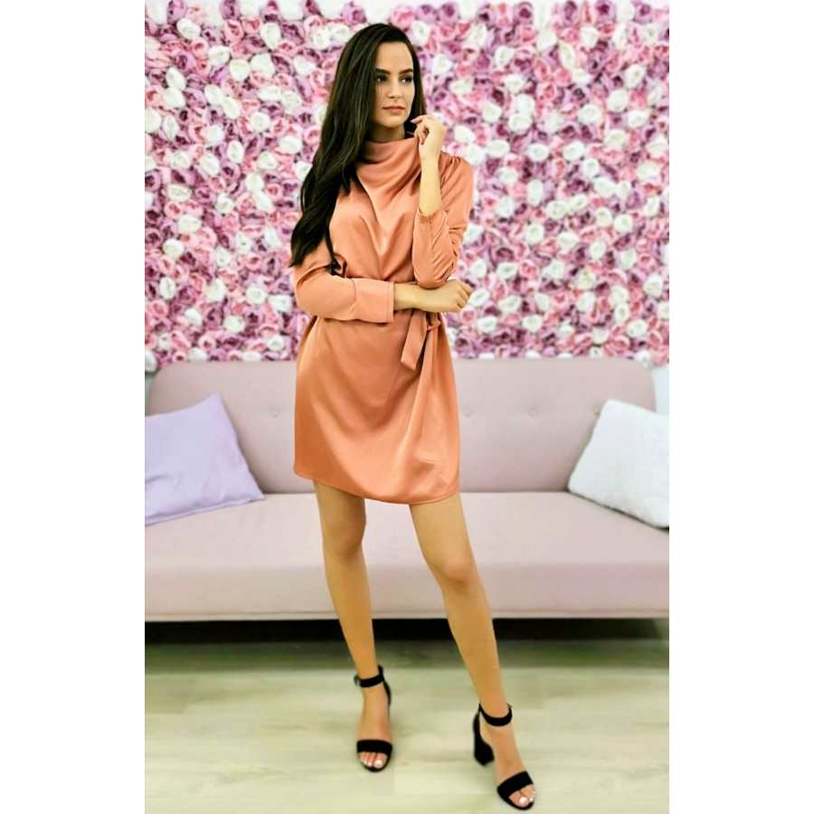 Sparkle ruha - rosegold