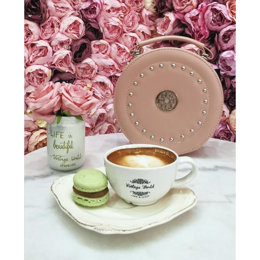 Prestige kör alakú táska - rózsaszín